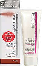 Düfte, Parfümerie und Kosmetik Zestaw - Collistar Special Perfect Hair Magic Root Concealer Red (shm/100 ml + concealer/75ml)