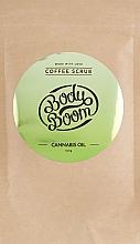 Düfte, Parfümerie und Kosmetik Kafee-Peeling für den Körper mit Hanf - BodyBoom Cannabis Oil Coffee Scrub