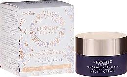 Düfte, Parfümerie und Kosmetik Pflegende Nachtcreme mit Kupferpeptiden - Lumene Nordic Ageless [Ajaton] Radiant Youth Night Cream