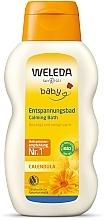 Düfte, Parfümerie und Kosmetik Pflegende und beruhigende Badelotion für Babys und Kinder mit Ringelblume - Weleda Calendula-Bad