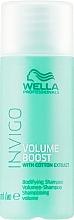 Düfte, Parfümerie und Kosmetik Volumen-Shampoo für feines Haar - Wella Professionals Invigo Volume Boost Bodifying Shampoo