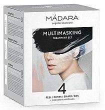 Düfte, Parfümerie und Kosmetik Gesichtspflegeset - Madara Cosmetics Multimasking Treatment Set (Gesichtsmaske 4x12,5ml + Gesichtsampullen 2x3ml)