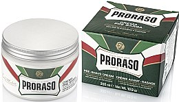 Düfte, Parfümerie und Kosmetik Pre Shave Creme mit Menthol & Eukalyptus - Proraso Green Pre Shaving Cream