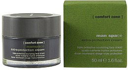 Düfte, Parfümerie und Kosmetik Reichhaltige feuchtigkeitsspendende und schützende Gesichtscreme - Comfort Zone Man Space Extra-Protection Cream