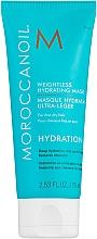 Düfte, Parfümerie und Kosmetik Feuchtigkeitsmaske für dünnes Haar - Moroccanoil Weightless Hydrating Mask Moroccanoil