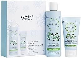 Düfte, Parfümerie und Kosmetik Körperpflegeset - Lumene Nordic Fresh (Duschgel 250ml + Handcreme 75ml)