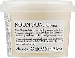 Düfte, Parfümerie und Kosmetik Pflegender Conditioner für sprödes und strapaziertes Haar mit Tomatenextrakt - Davines Nourishing Nounou Conditioner