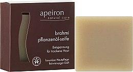 Düfte, Parfümerie und Kosmetik Pflanzenöl-Seife für trockene Haut mit feinem Minzduft - Apeiron Brahmi Plant Oil Soap