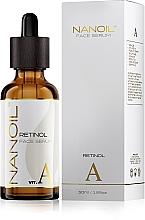 Düfte, Parfümerie und Kosmetik Hauterneuerendes Anti-Aging Gesichtsserum mit Retinol - Nanoil Face Serum Retinol