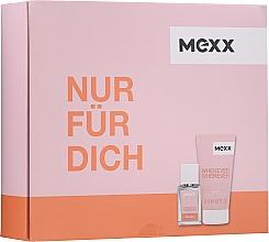 Düfte, Parfümerie und Kosmetik Mexx Whenever Wherever For Her - Duftset (Eau de Toilette 15ml + Duschgel 50ml)
