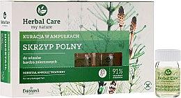 Düfte, Parfümerie und Kosmetik Nährampullen gegen Haarausfall zur Stimulierung des Haarwuchses - Farmona Herbal Care Horsetail Ampoule Treatment