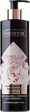 Düfte, Parfümerie und Kosmetik Schützende und feuchtigkeitsspendende Körperlotion - Bielenda Camellia Oil Luxurious Body Milk