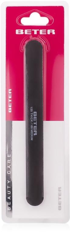 Doppelseitige Laser-Nagelfeile 120/180 - Beter Beauty Care  — Bild N1