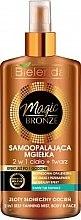 Düfte, Parfümerie und Kosmetik Selbstbräunungsspray für Körper und Gesicht - Bielenda Magic Bronze