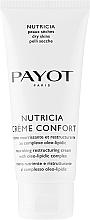 Düfte, Parfümerie und Kosmetik Pflegende und regenerierende Gesichtscreme mit japanischem Schlangenbart - Payot Nutricia Creme Confort Nourishing & Restructuring Cream