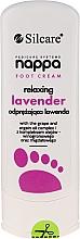 Düfte, Parfümerie und Kosmetik Entspannende Fußcreme mit Lavendel - Silcare Nappa Foot Cream Relaxing Lavender