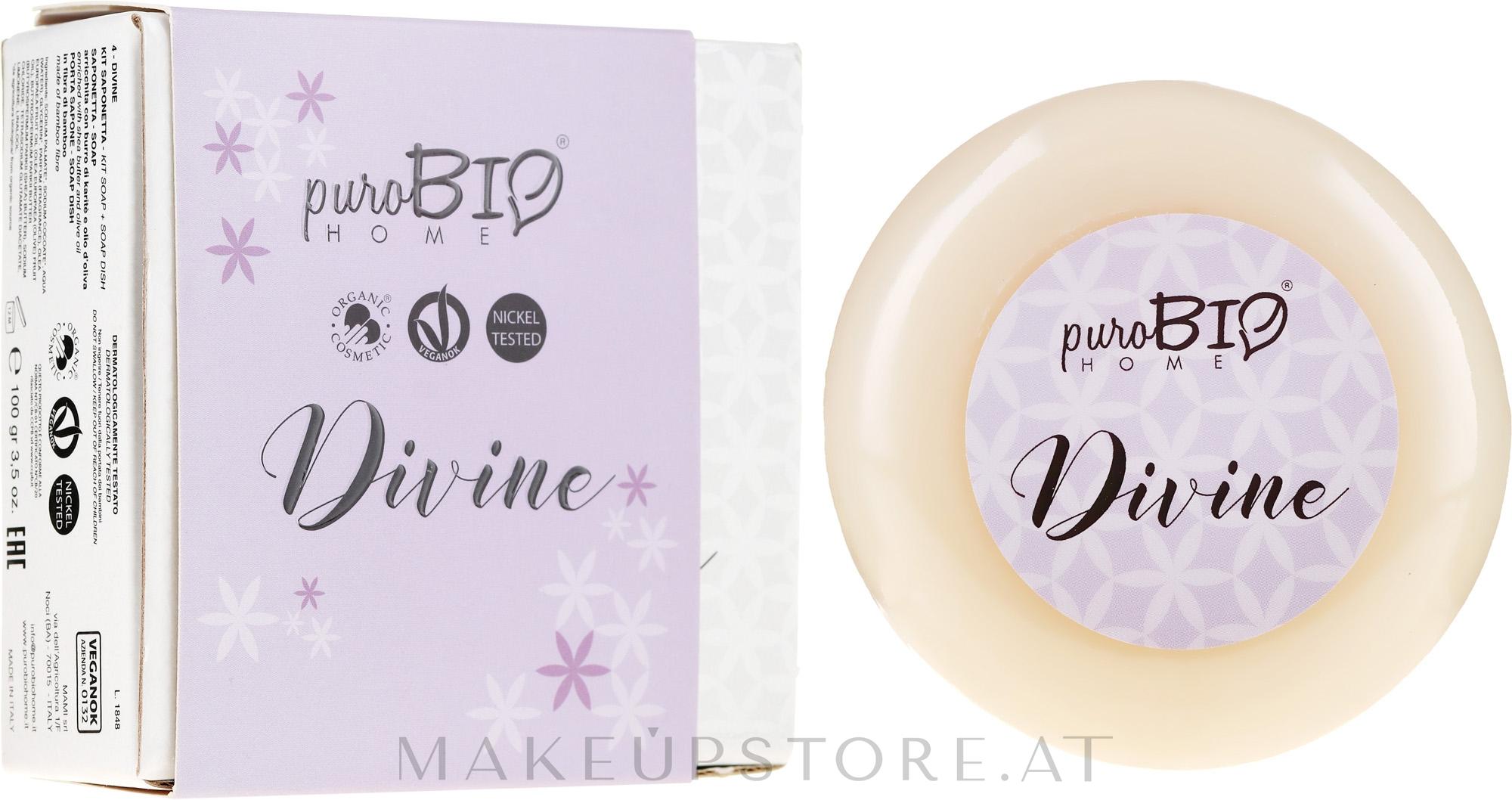 Bio-Seife Divine - PuroBio Home Organic Divine — Bild 100 g