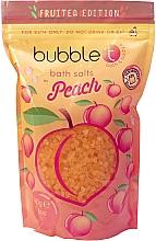Düfte, Parfümerie und Kosmetik Badesalz mit Pfirsich - Bubble T Cosmetics Bath Salt Peach