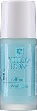 Düfte, Parfümerie und Kosmetik Deo Roll-on - Yellow Rose Deodorant Blue Roll-On