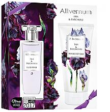 Düfte, Parfümerie und Kosmetik Allverne Iris & Patchouli - Duftset (Eau de Parfum 50ml + Körperbalsam 200ml)