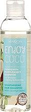 Düfte, Parfümerie und Kosmetik Intensiv feuchtigkeitsspendendes Shampoo mit Kokoswasser - Marion Enjoy Coco Intensive Moisturizing Shampoo