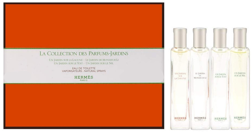 Hermes La Collection Set - Duftset (Eau de Toilette 4x15ml)