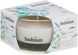 Düfte, Parfümerie und Kosmetik Duftkerze im Glas Weißer Tee und Minzblätter 50/80 mm - Bolsius True Moods Candle