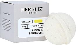 Düfte, Parfümerie und Kosmetik Badebombe Ylang-Ylang - Herbliz CBD