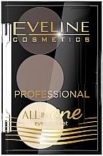 Düfte, Parfümerie und Kosmetik Augenbrauen-Make-up-Palette - Eveline Cosmetics All In One Eyebrow Styling Set