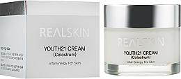 Düfte, Parfümerie und Kosmetik Aufhellende Gesichtscreme mit Kolostrum - Real Skin Youth 21 Cream Colostrum