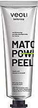Düfte, Parfümerie und Kosmetik Säure- und Enzympeeling für das Gesicht - Veoli Botanica Matcha Power Peeling