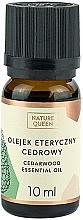 Düfte, Parfümerie und Kosmetik Ätherisches Öl Zederholz - Nature Queen Essential Oil Cedarwood
