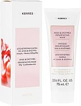 Düfte, Parfümerie und Kosmetik Porenverfeinernde Gesichtsmaske für fettige bis Mischhaut mit Granatapfel - Korres Pomegranate Ahas & Enzymes Resurfacing Mask