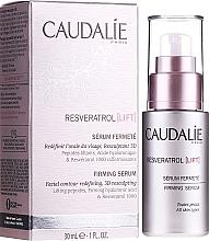 Düfte, Parfümerie und Kosmetik Straffendes Gesichtsserum mit Lifting-Effekt - Caudalie Resveratrol Lift Firming Serum