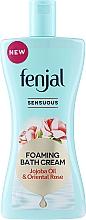 Düfte, Parfümerie und Kosmetik Badeschaum mit natürlichem Jojobaöl & sinnlichem Rosenduft - Fenjal Sennliches Cream Bath