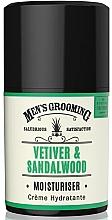 Düfte, Parfümerie und Kosmetik Feuchtigkeitsspendende Gesichtscreme für Männer mit Vetiver- und Sandelholzduft - Scottish Fine Soaps Vetiver & Sandalwood Moisturiser
