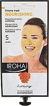 Düfte, Parfümerie und Kosmetik Nährende Gesichtsmaske mit Honig - Iroha Nature Nourishing Honey Creamy Mask