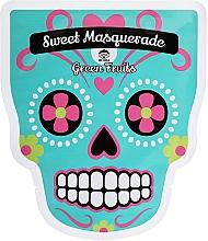 Düfte, Parfümerie und Kosmetik Nährende und reinigende Tuchmaske für das Gesicht mit Zitronen- und Guavenextrakt - Dr Mola Sweet Masquarade Green Fruits mask