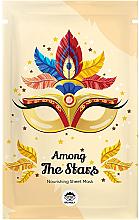 Düfte, Parfümerie und Kosmetik Nährende und glättende Tuchmaske für das Gesicht mit Honig und Milchproteinen - Dr Mola Among The Stars Nourishing Mask