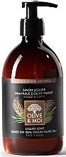 Düfte, Parfümerie und Kosmetik Flüssigseife mit Olivenöl und Vetiver - Saryane Olive & Moi Liquid Soap