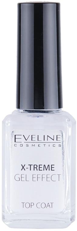 Schnelltrocknender Nagelüberlack mit Gel-Effekt - Eveline Cosmetics Nail Therapy Professional  — Bild N2