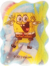 Düfte, Parfümerie und Kosmetik Kinder-Badeschwamm SpongeBob blau-gelb - Suavipiel Sponge Bob Bath Sponge