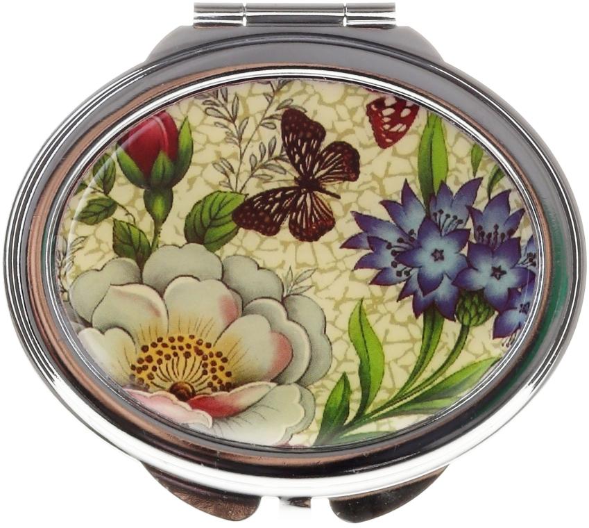 Kosmetischer Taschenspiegel Schmetterling 85451 - Top Choice — Bild N1