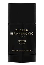 Düfte, Parfümerie und Kosmetik Zlatan Ibrahimovic Myth Wood - Antiperspirant Deodorant Stick Hi-impact, 48H