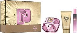 Düfte, Parfümerie und Kosmetik Paco Rabanne Lady Million Empire - Duftset (Eau de Parfum 50ml + Eau de Parfum Mini 10ml + Körperlotion 75ml)