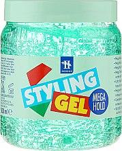 Düfte, Parfümerie und Kosmetik Haargel Mega starker Halt - Tenex Styling Wetlook Green Gel