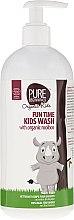 Düfte, Parfümerie und Kosmetik Kinder Körperwaschgel - Pure Beginnings Fun Time Kids Wash With Organic Rooibos