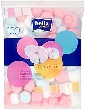 Bunte Wattebäusche 100 St. - Bella Cotton Balls — Bild N2