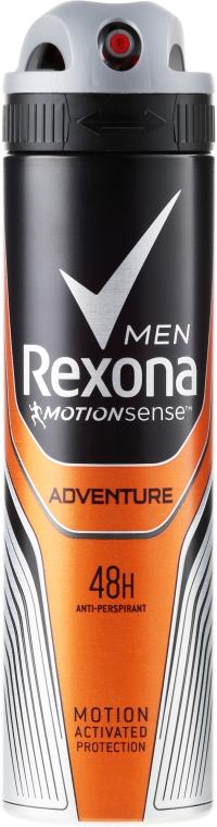 Deospray Adventure Antitranspirant - Rexona Deodorant Spray Man — Bild N1