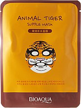 Düfte, Parfümerie und Kosmetik Tuchmaske für samtige Geschmeidigkeit - Bioaqua Animal Tiger Supple Mask